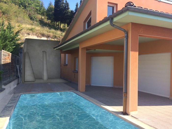 Rénovation d'une maison à Clermont Ferrand