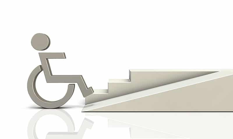normes accessibilit handicap s des solutions sur mesure avec cr axia. Black Bedroom Furniture Sets. Home Design Ideas