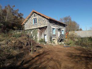 Renovation maison de campagne Puy-de-Dôme