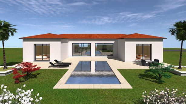 Projet De Realisation De Maison Moderne F5 A Randan Puy De Dome