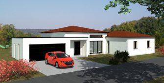 Avant projet maison Vertaizon