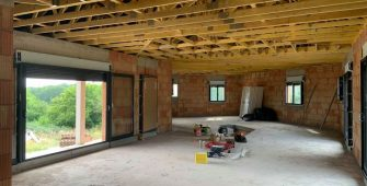 Chantier construction maison Saint Gervais d'Auvergne