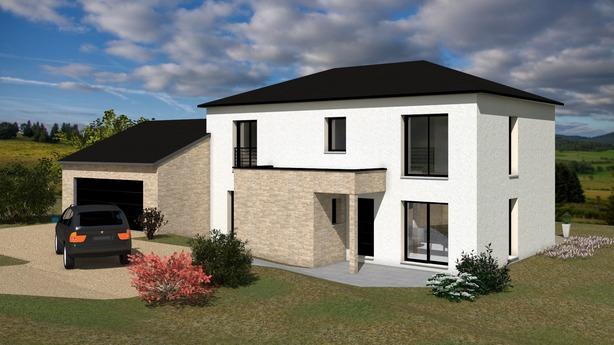 Projet construction maison Laschamps