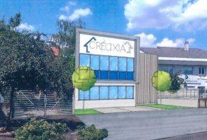 Nouveau siège social Créaxia - perspective 3D
