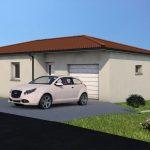 Avant-projet maison moderne Mirefleurs