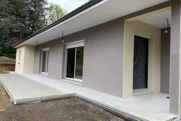 Chantier construction maison individuelle Romagnat