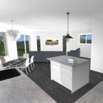 Projet 3D construction maison Ennezat