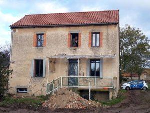 Rénovation complète maison Champs 63