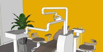 Visuels projet professionnel cabinet dentaire